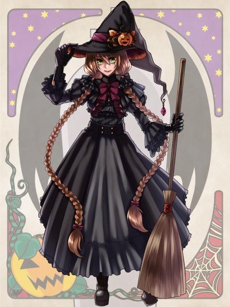 【2023ハロウィン】 ハロウィンで魔女