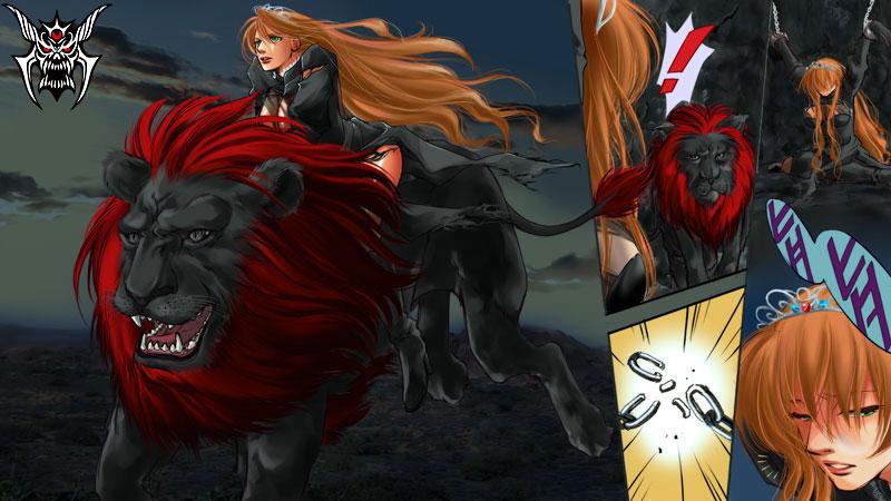 【ななな闇】美女と野獣野を駆ける