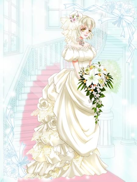 【2024ジューンブライド】全身:嫁ぐ日