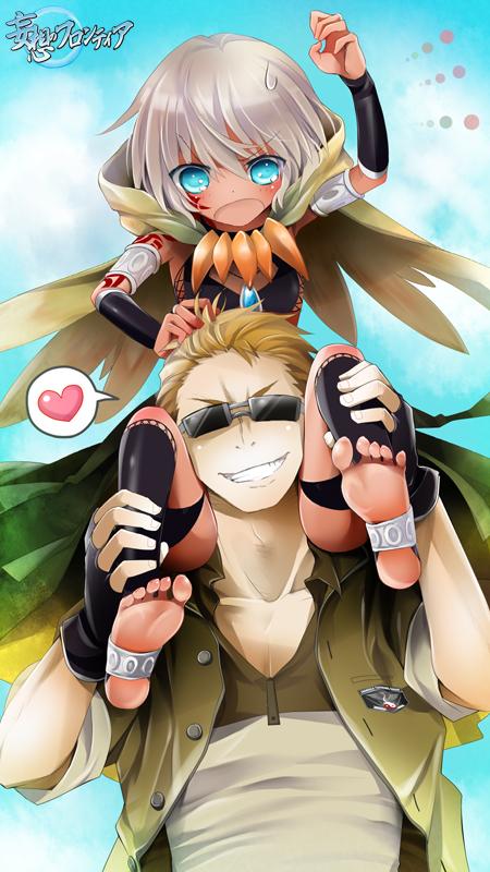 【妄フロ】小さい女神様とスキンシップ♪